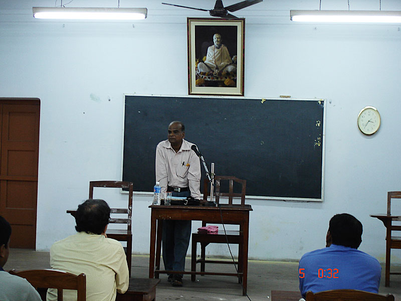 Special Lecture by Prof. N. B. Biswas
